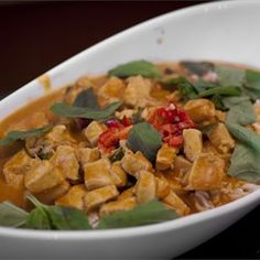 Panang Curry with Chicken Allrecipes.com