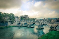 Vintage look rome / tiber by ChristianThür Photography on Creative Market Vintage Looks, Rome, Creative, Christian, Pictures, Photography, Architecture, Fotografie, Photos