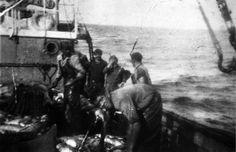 Na costa de África, á pesca do pargo