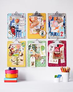 DIY Clipboard Pinboards