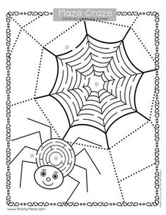 Fine Motor Skills: October Activity Pack Mazes For Kids Printable, Early Finishers, Hands On Activities, Learning Centers, Fine Motor Skills, October, Motor Skills, Fine Motor