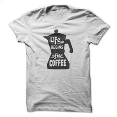 Life Begins After Coffee - #tee spring #tshirt yarn. SIMILAR ITEMS => https://www.sunfrog.com/LifeStyle/Life-Begins-After-Coffee-64549985-Guys.html?68278