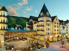 Vail, CO - Arabelle at Vail Square - walked past, eaten there, and one day maybe I'll get to stay there!