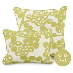 Oilo Modern Berries Spring Green Decorative Pillow @LaylaGrayce