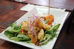 """ARTISAN FLORIBBEAN CUISINE Savor one of the freshest ceviche (""""seh-BEE-chay"""") in town – done the right way!  Ceviche is an old tradition in South America. Try a delicious ceviche with passion fruit, canchita and other authentic ingredients at a beautiful tavern where you will experience the real local ambiance.  A cooling beer cocktail enhances the experience at this local gem labelled 'Best Colombian Restaurant in Miami Beach' http://www.miamiculinarytours.com/tour/south-beach-tour/"""