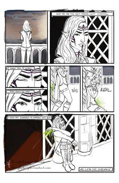 DAI: Broken - Part 1 by AryBoBary on DeviantArt | Solas and Lavellan romance, Solavellan, Dragon Age: Inquisition