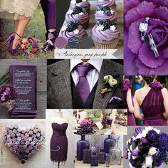 grey and dpurple wedding | Inspiration Ideas | Luxur Weddings Blog | Page 3