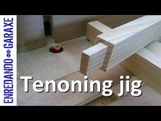 How to make a router tenoning jig to route tenons with my homemade router table. A very fast and simple way to cut tenons in our woodworking shop. This sled ...