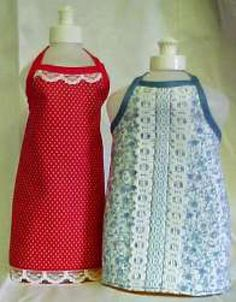 Create a Customized Apron with These Free Sewing Patterns: Free Pattern and Directions to Sew a Dish Liquid Apron