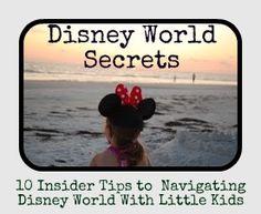 The Secrets to Enjoying Disney World with Little Kids