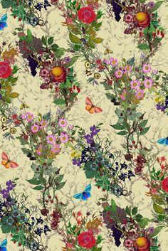Bloomsbury Garden wallpaper