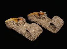 Shoes of Nizam Sikandar Jah, World's Most Expensive Shoes 2018 Most Expensive Shoes, Expensive Jewelry, Nizam Jewellery, Rare Diamonds, Diamond Shoes, Diamond Dreams, Carat Gold, Luxury Shoes, Indian Jewelry