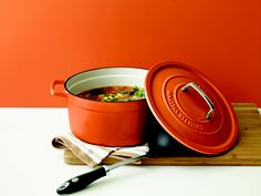 A must-have for getting it done right in the kitchen. I am pinning this on my Home Style board. Just because this is too cool just to like. I want one. A bright red or lime green. Ahh choices.