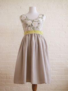 Grey gardens bridesmaid dress