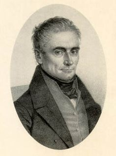 Czech physician and neurophysiologist, Jan Evangelista Purkinje (Purkyne), 1787 - 1869, is best known for his discovery, in 1837, of Purkinje cells, large nerve cells with many branching extensions found in the cortex of the cerebral cortex. He is also known for his 1839 discovery of Purkinje fibers, the fibrous tissue that conducts the pacemaker stimulus along the inside walls of the ventricles to all parts of the heart.