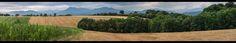 Panorama depuis les serres de Villeneuve de Rivière | Sony Nex-7 | Carl Zeiss Jena Pancolar MC DDR 50mm f/1.8  Follow my work on https://flic.kr/p/yjcjC9