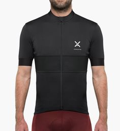 Admontem All-Rounder Cycling Jersey Black Colour