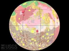 """http://gallery.usgs.gov/videos/822 This new global geologic map of Mars depicts the most thorough representation of the """"Red Planet's"""" surface. This map prov..."""