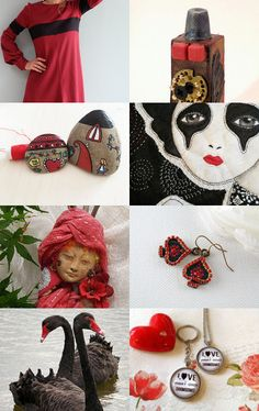 Romantic dark queen by Gioconda Pieracci on Etsy--Pinned with TreasuryPin.com