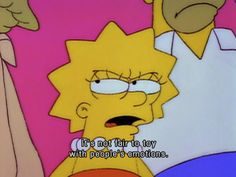 Dear Rowling, Lisa Simpson has a few words to say about your soul crushing works of deviously fantastic fiction.