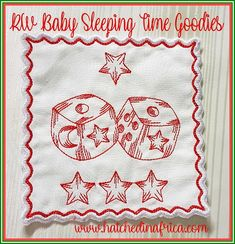 31 Embroidery designs. Design sizes: * 10 6x6' Designs * 5 5x7' Designs * 12 4x4' Designs The set also includes 4 5x7' coaster designs. These designs are great for baby quilts, receiving blankets, cot bumpers and more! Stitch a few coasters and string them together to make a banner. All Design, Free Design, Embroidery Designs, Christmas Tree Decorations, Christmas Ornaments, Cot Bumper, How To Make Banners, How To Make Christmas Tree, Christmas Coasters