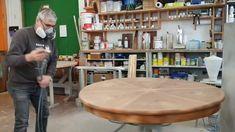 Die Restaurationsarbeiten bewegen sich dem Ende zu... Die furnierte Tischplatte wird lackiert. Gerne restaurieren wir Ihr geliebtes Möbelstück mit unserer Fachkompetenz. Kontaktieren Sie uns! #schreinereilohrer #möbelrestaurieren #restaurator #furnier #massivholzmöbel #massanfertigung #innenarchitektur #architekten #holzhochkarätig #swissmade #handwerkskunst #nachhaltigkeit #wood #woodworker Restaurant, Vacuums, Home Appliances, Refurbishing Furniture, Wood Workshop, New Furniture, Architects, Sustainability, House Appliances