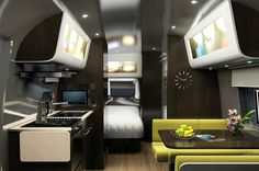 I'm buying an Airstream and making it look like this one.