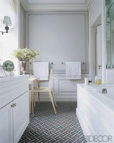 BELLE VIVIR: Interior Design Blog | Lifestyle | Home Decor: Wednesday Classics: Patterned Floors