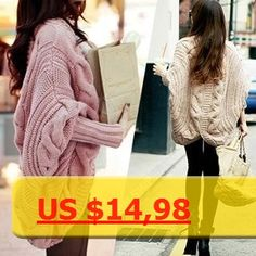 Spring Autumn 7Colors Coarse Wool Cardigans Women Brand Fashion Full Batwing Sleeve Sweaters Casual Women Clothing Free shipping