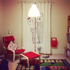 Cortinas del amor! ❤️ Ikea!