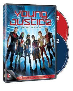Young Justice: Dangerous Secrets DVD