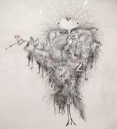 Tim Burton artwork.