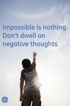 Impossible is nothing #Quotes #GEHealthcare