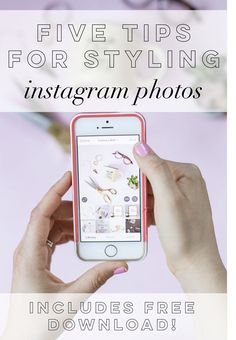 FIVE TIPS FOR STYLING INSTAGRAM PHOTOS | We all love to scroll through our Instagram feeds and double tap the images of cute puppies, colorful macaroons, gorgeous floral arrangements, latte art, and candid photos of our friends. We enjoy sneak peeks into the lives of others, whether it be our best friend or favorite celebrity. | Rachel Allene Blog