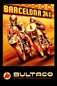 Bultaco 24 Hours of Montjuich Motorcycle Race