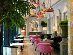Ham_Yard hotel London - Wonderful bar and cocktails with relaxed atmosphere right in the thick of the action - May 2015