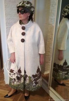"""пальто """"Мелодии старого квартала"""" – купить в интернет-магазине на Ярмарке Мастеров с доставкой - EN5L7RU"""