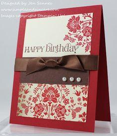 Simple & Sincere: Fresh Vintage Birthday