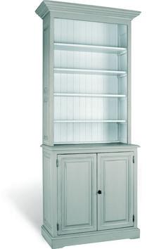 Buffetkast met open vakken en deuren afmeting H 230 cm x B 102 cm x D 47 cm - Inndoors Meubelen en Interieur