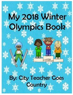 26 printable pages for your students to make their own winter Olympics booklet.