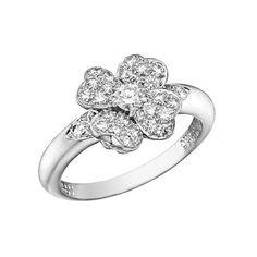 "Betteridge: Van Cleef & Arpels Pavé Diamond ""Cosmos"" Ring"