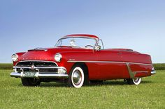 1954 Hudson Hornet Convertible | Photographer: D Miller of Armchair Aviator