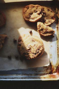 Orange + Olive Oil Chocolate Chip Cookies.
