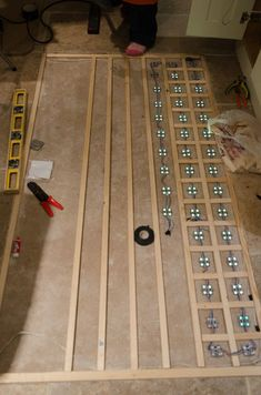 This project is inspired by the Pixel Drop Ceiling by hockeyman271 and would not be possible without referencing that instructable.This LED Disco Floor uses WS2801...