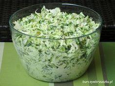 Surówka krymska / kapusta biała i pekińska Appetizer Salads, Appetizers, Bruschetta, Polish Recipes, Tzatziki, Side Salad, Coleslaw, Kraut, Salad Dressing