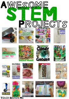 20 Elementary STEM Science Projects - Awesome STEM Projects for Kids! science for kids Elementary Science Experiments, Stem Science, Science Fair Projects, Preschool Science, Science For Kids, Physical Science, Science Classroom, Science Education, Science Labs