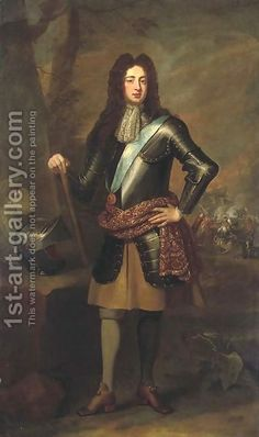 Portrait of James Scott, Duke of Monmouth and 1st Duke of Buccleuch (1649-1685) (after) William Wissing Or Wissmig | Oil Painting Reproducti...