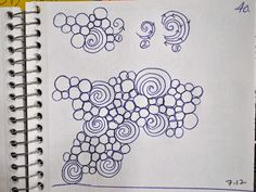 Here are a few  background fill designs   from the Sketch Book...       This has a flowing, organic  look to it.   I draw out random, ...