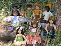 Fairy sewing pattern set for Kidz n Cats Sasha and by jenwrenne