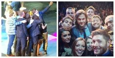 Supernatural & Arrow at the CW Upfronts 2014 - I think my fave part is that celebs take dorky selfies just like the rest of us!